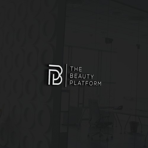 Create a modern and catchy logo for The Beauty Platform