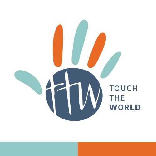 Touch The World Logo: Simple. Creative. Fresh.