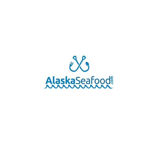Logo for seafood.