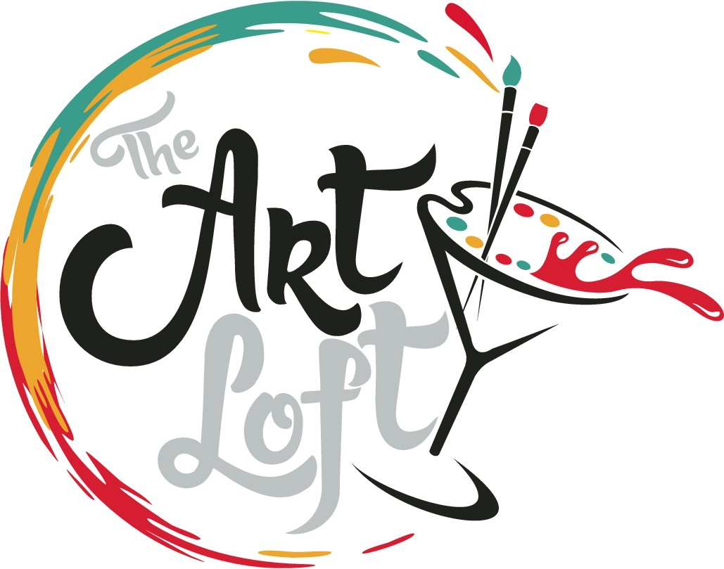 Paint and sip type-art studio looking for a new logo!
