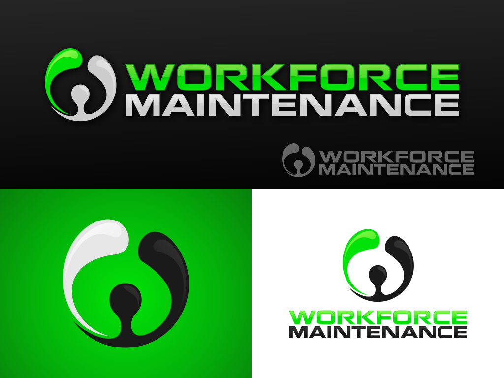 Create the next logo for Workforce Maintenance