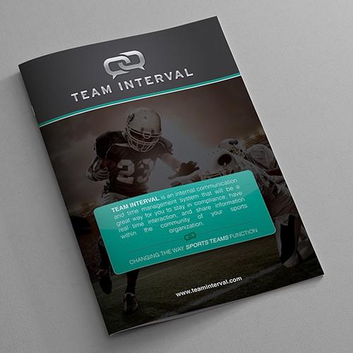 Booklet design for Team Interval