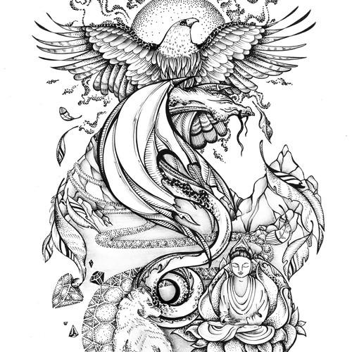 Spiritual Journey Tattoo