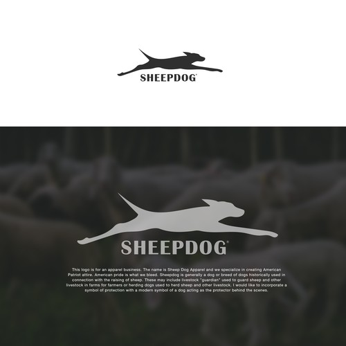 SHEEPDOG Logo Design