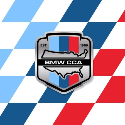 Grille Badge Design for BMW Car Club