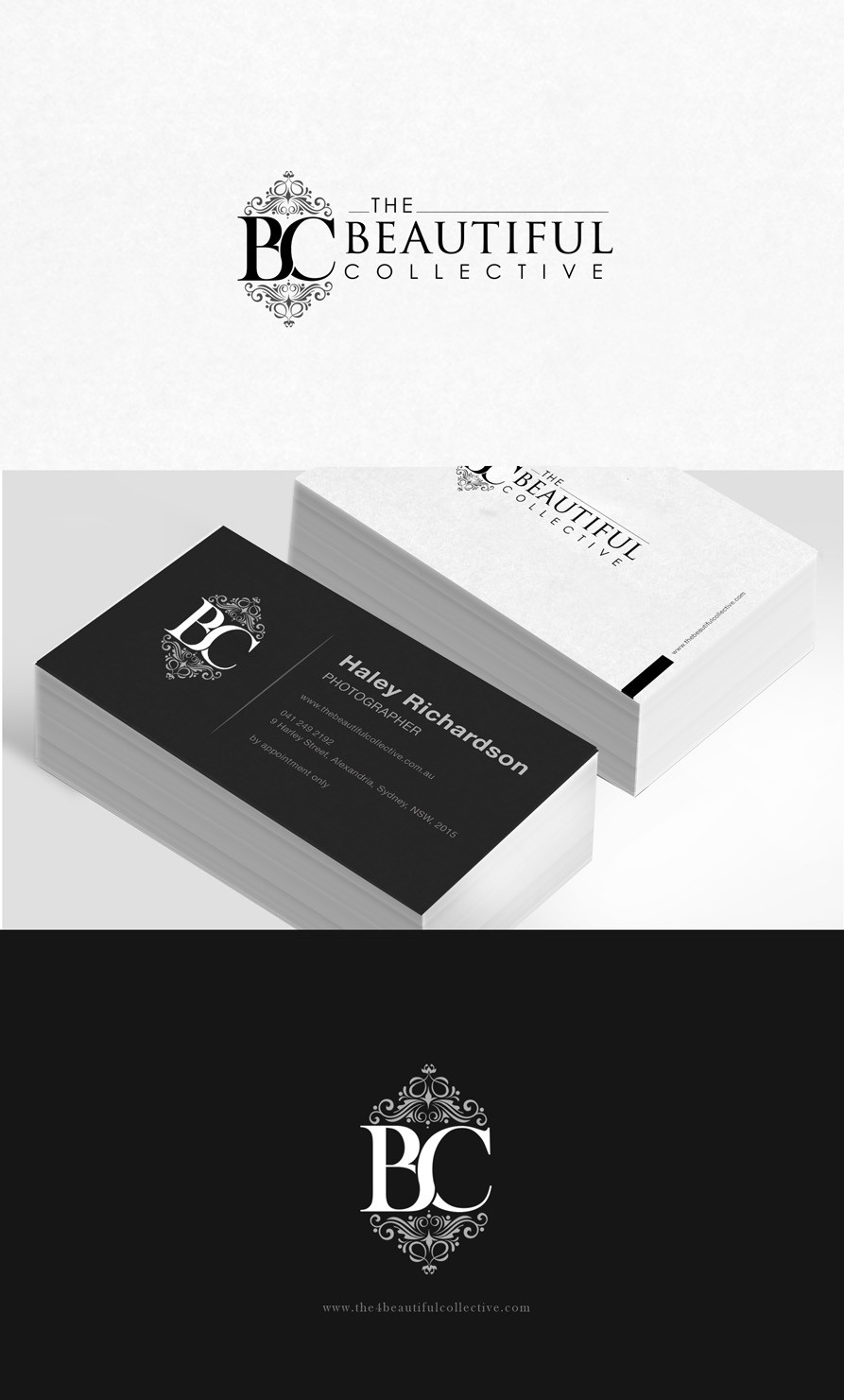 New logo and business card wanted for The Beautiful Collective