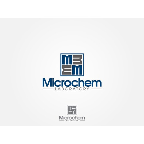 Create a logo for Microchem Laboratory (a lab that tests disinfectants, medical devices, and drugs)