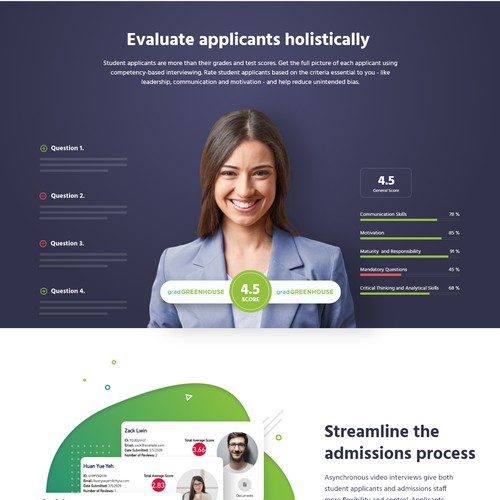 GGH Video Admissions - product page