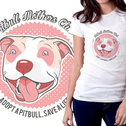 T-Shirt For Female Pit Bull Owners
