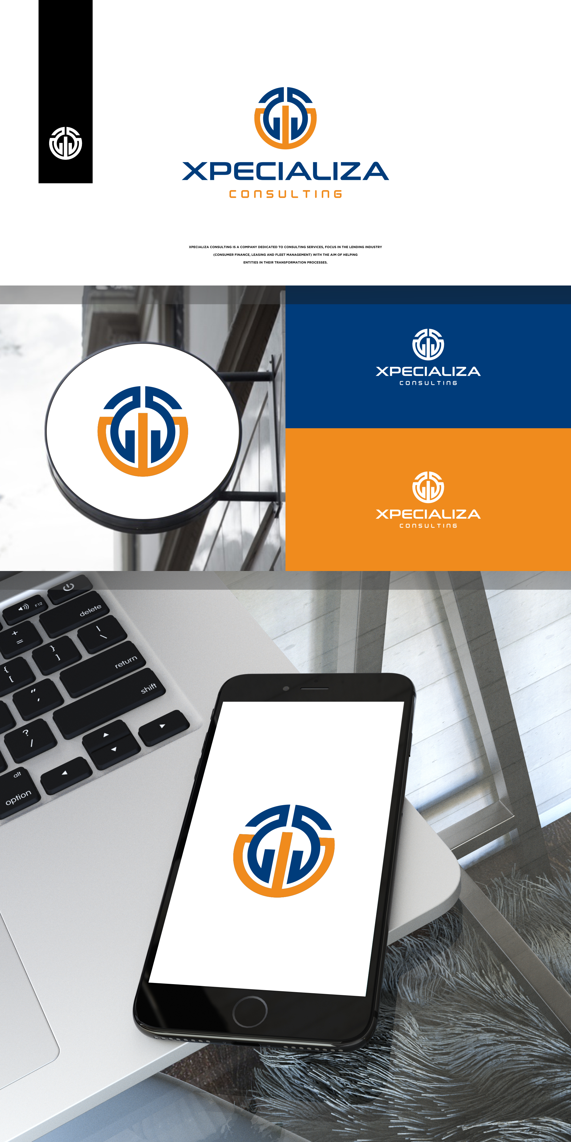 Moderm logo for Technological Consulting Company