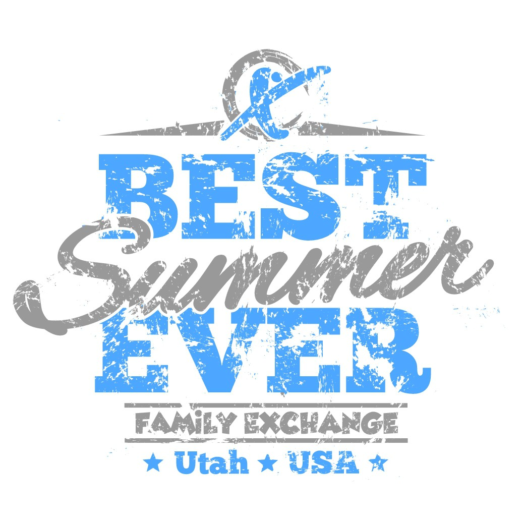 Exciting Adventure T-shirt design for Foreign Exchange Teen Camp