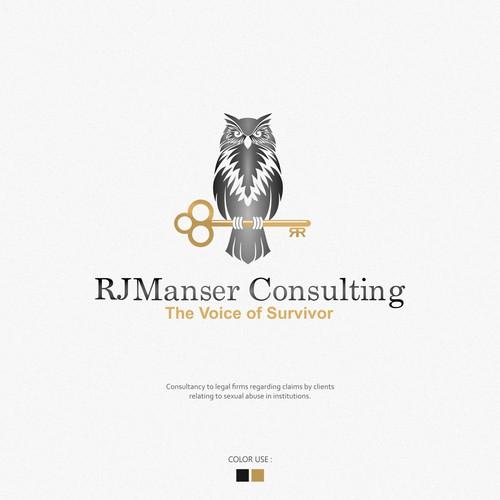 Logo & Brand Identity pack RJ Manser Consulting
