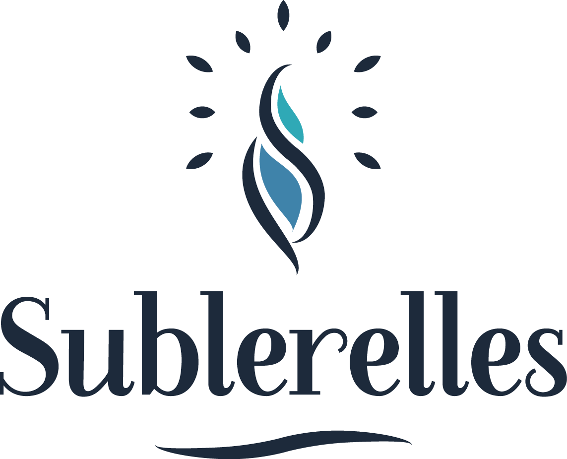 Sublerelles - Hand made botanical candle