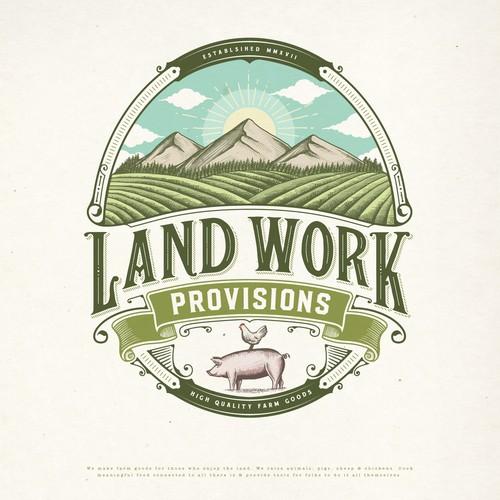 LAND WORK PROVISIONS LOGO PROPOSAL