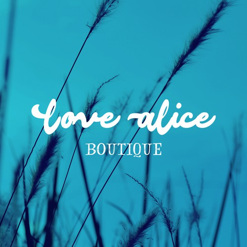 Logo for a Boutique called Love Alice