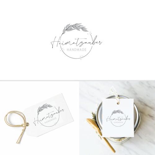 "Shop logo: ""Homeland Magic"" - locally produced spiritual goods"