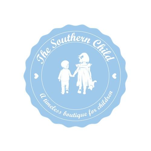 Timeless logo for children's boutique
