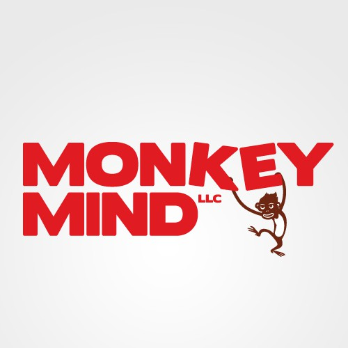 Create a fun and interesting logo for Monkey Mind LLC