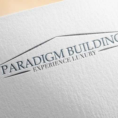 Sophisticated and simple logo for home builder