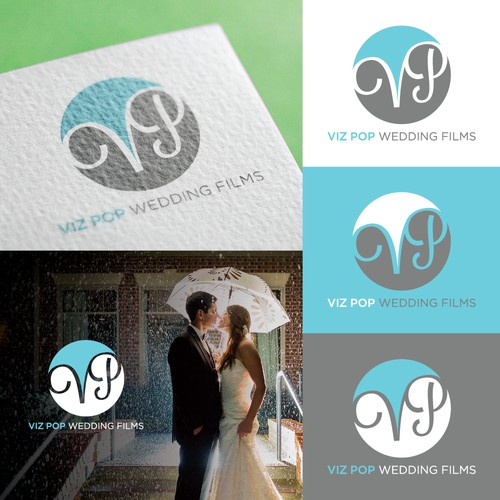 Whimsical Logo for Wedding Film Company
