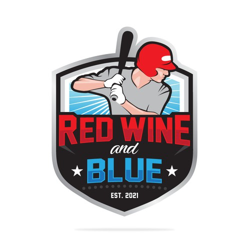 Logo for Red Wine & Blue