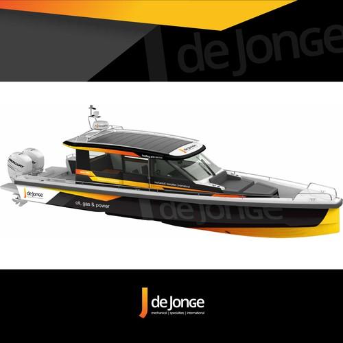 Super Sport Boat Wrap