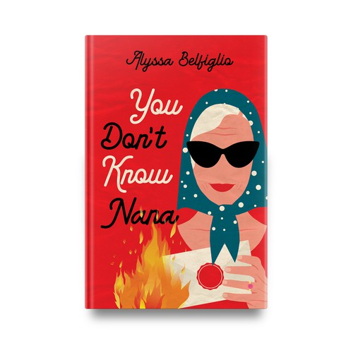 """Book cover for """"You Don't Know Nana"""""""
