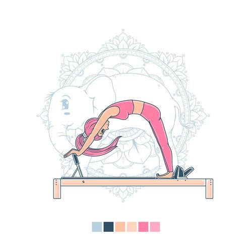 Proposed design for Pilates Elephant