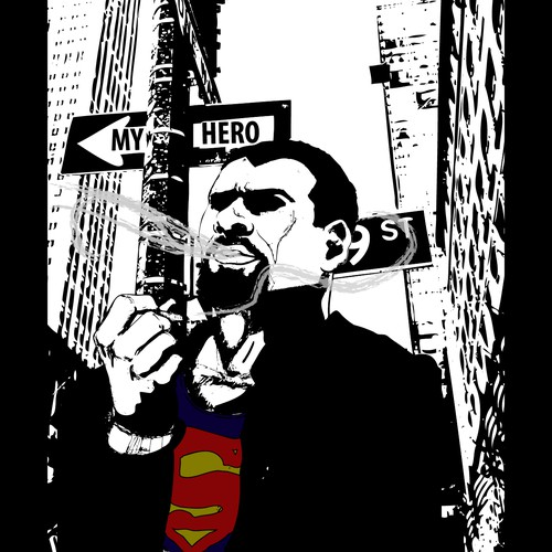 Create a Superhero graphic novel cover for a dramatic novel