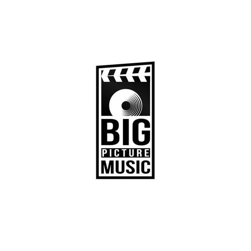 Create a classic logo for Music Company