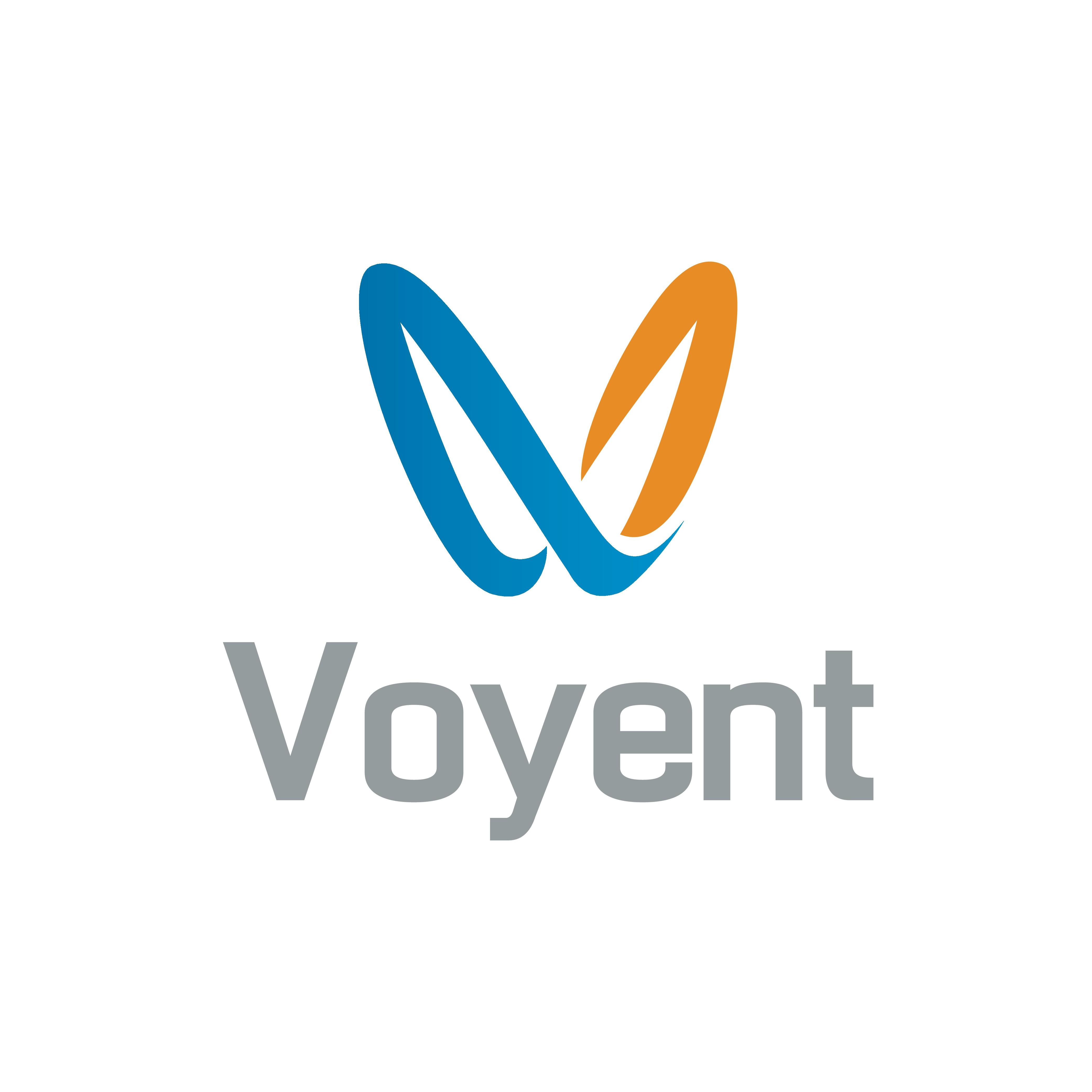 Create an innovative logo for Voyent