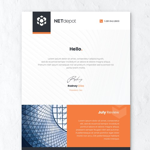 Modern & Simple Email Design
