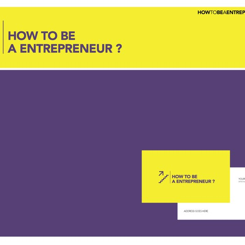 how to be a entrepreneur ?