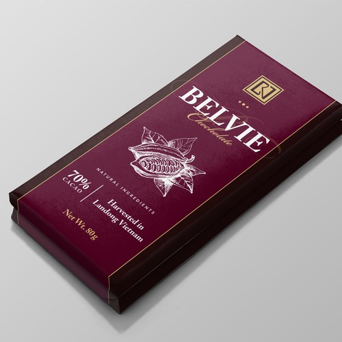 Fine Chocolate Bar Wrap