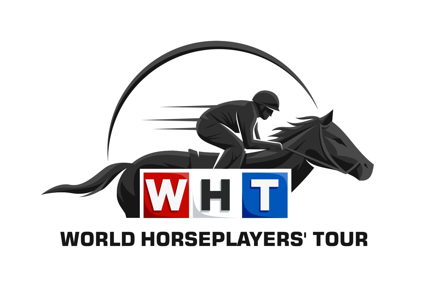 Design a logo for the World Horseplayers' Tour