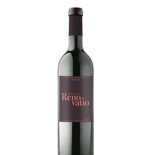 Erstellt ein eindrucksvolles und modernes Etikettendesign für einen tollen Wein