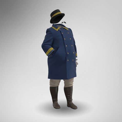19th Century 3D Fashion