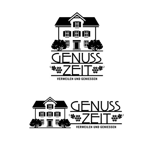 Genuss Zeit Farmhouse and Wine Bar Logo
