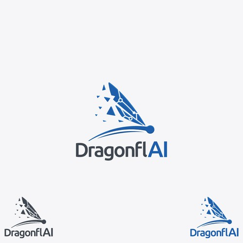 DragonflAI logo focussed on technology and AI