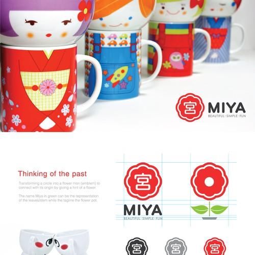 Logo Re-design for Miya