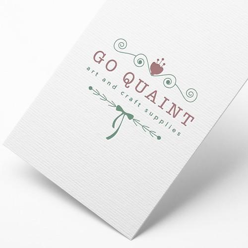 """Logo concept for """"Go Quaint"""""""