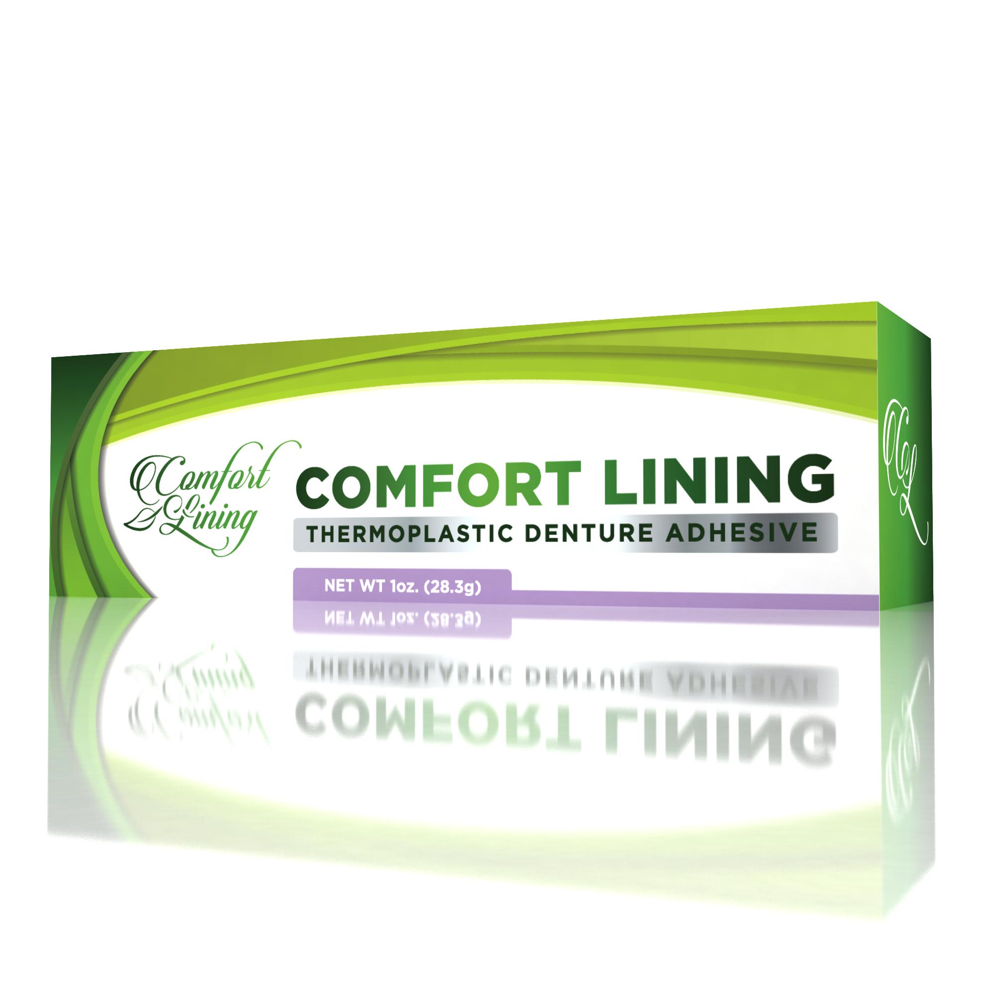 Comfort Lining Thermoplastic Denture Adhesive