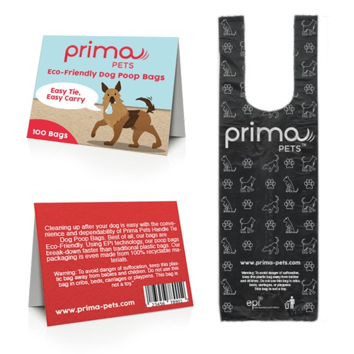 Prima Pets Dogs Poop bags
