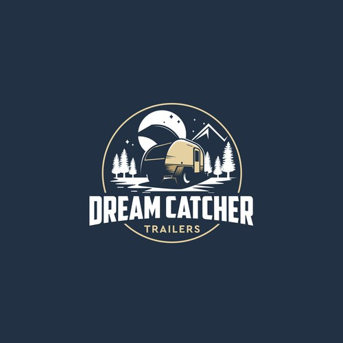 Dream Catcher Trailers-Logo for camping trailer hand crafted