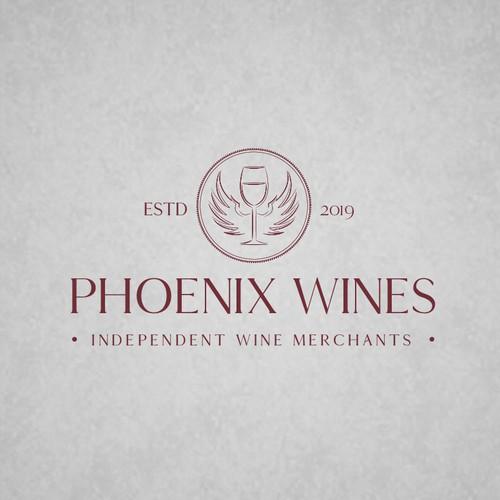 Logo design for Phoenix Wines