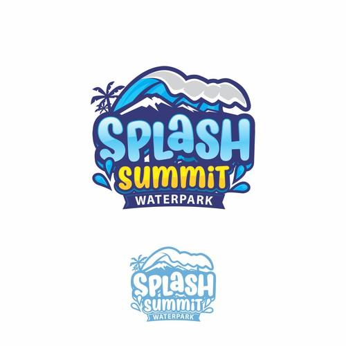 splash town logo