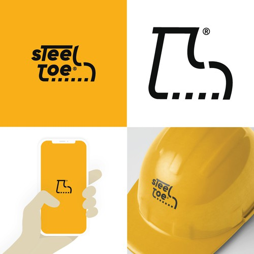 Bold logo for Women-owned Construction Company