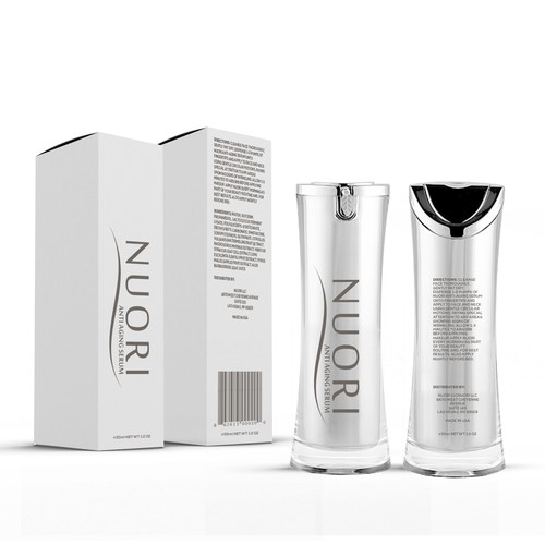 Nouri - Cosmetics packaging design
