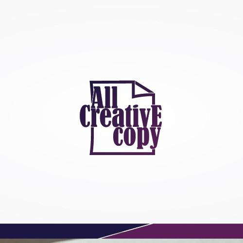 Creative logo for All Creative copy.