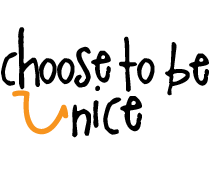 How often do you Choose to Be Nice?  Help Choose To Be Nice with a fabulous logo.